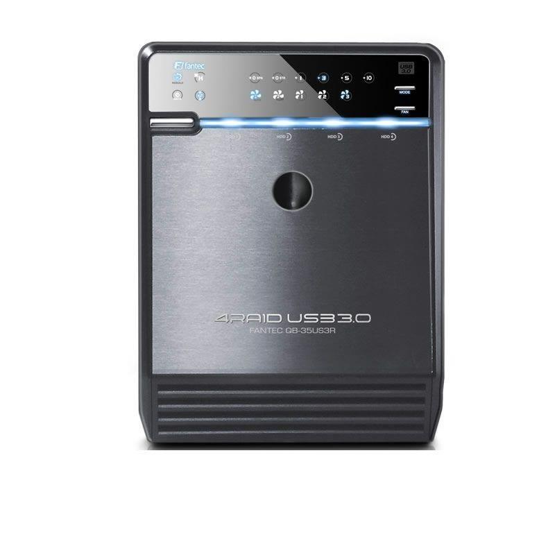 FANTEC RAID Gehäuse » QB-35US3R USB (1519)« in schwarz