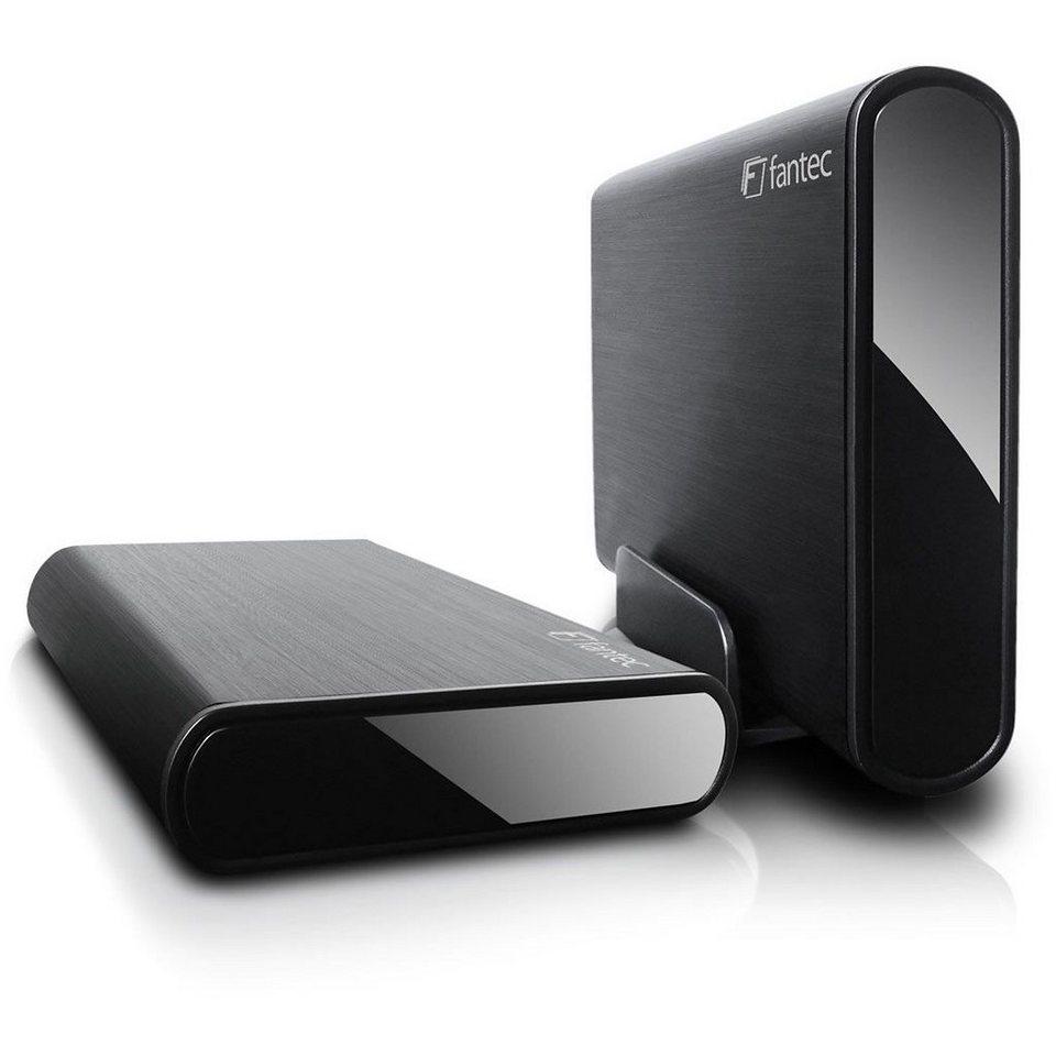 FANTEC externe Festplatte » DB-ALU3e 1TB USB 3.0 eSATA (14791)« in schwarz