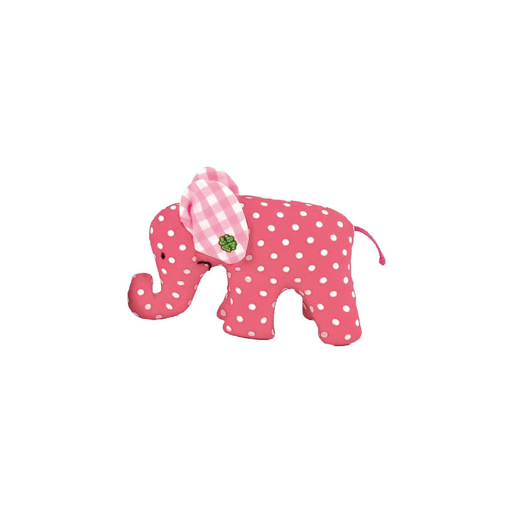 Käthe Kruse Mini Elefant pink (4)
