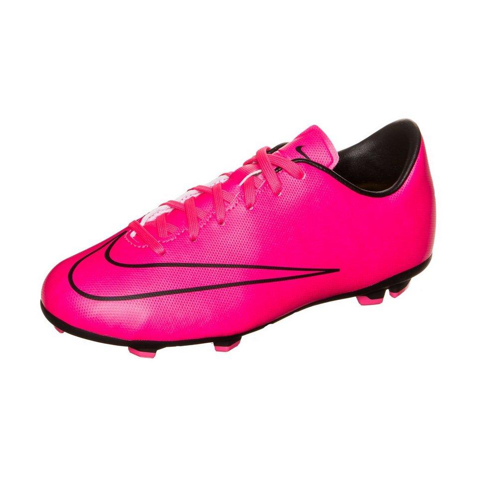 NIKE Mercurial Victory V FG Fußballschuh Kinder in pink / schwarz