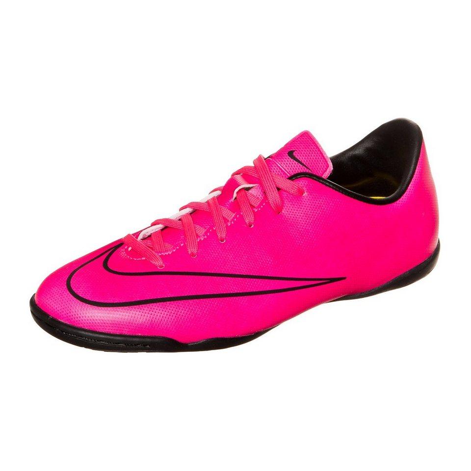 NIKE Mercurial Victory V Indoor Fußballschuh Kinder in pink / schwarz