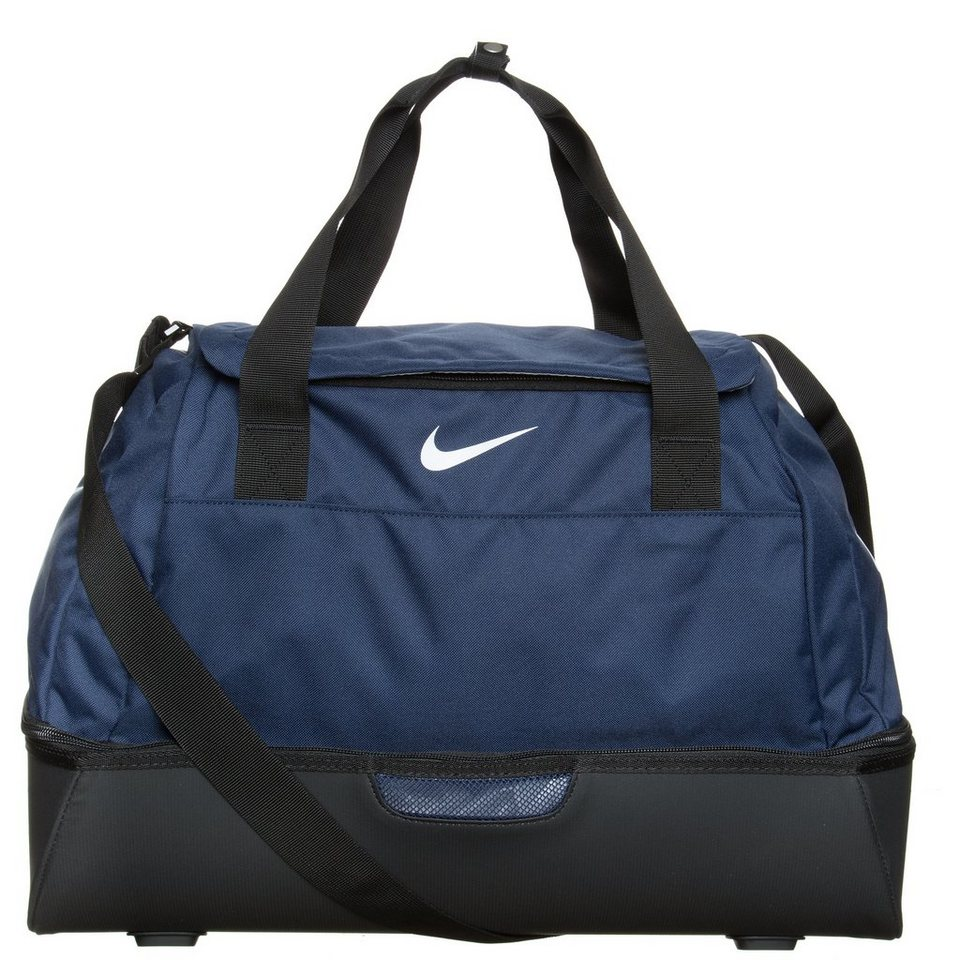 NIKE Club Team Swoosh Hardcase Sporttasche Medium in dunkelblau / schwarz