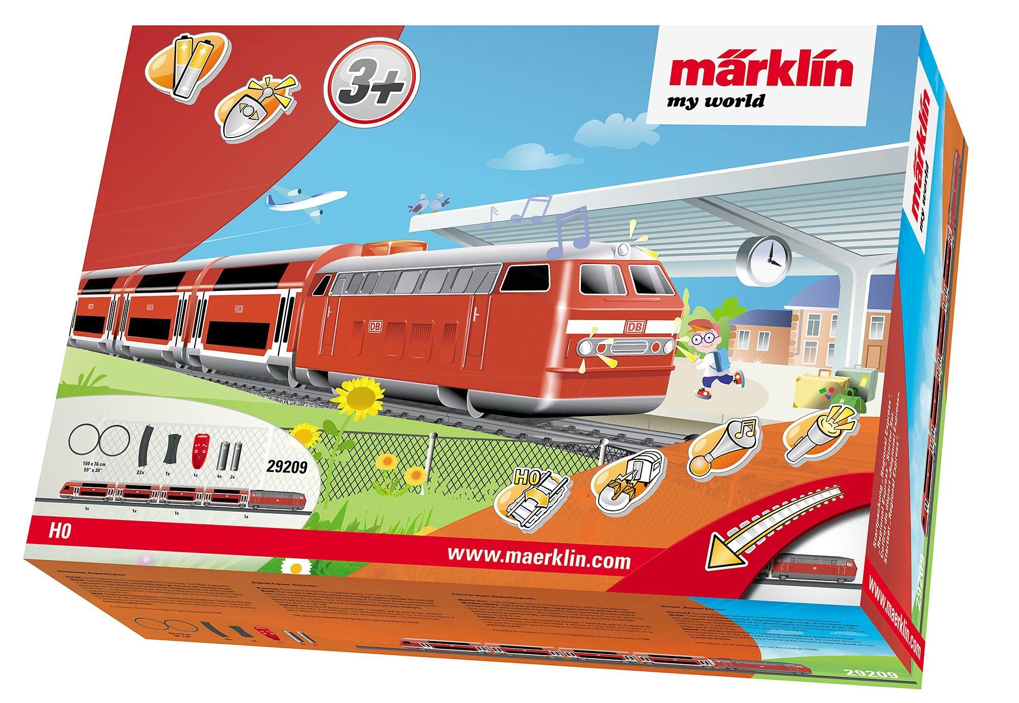 Märklin Eisenbahn Starterset, »Märklin My World - Regional Express & Gleis-Ergänz. 29209+23300«