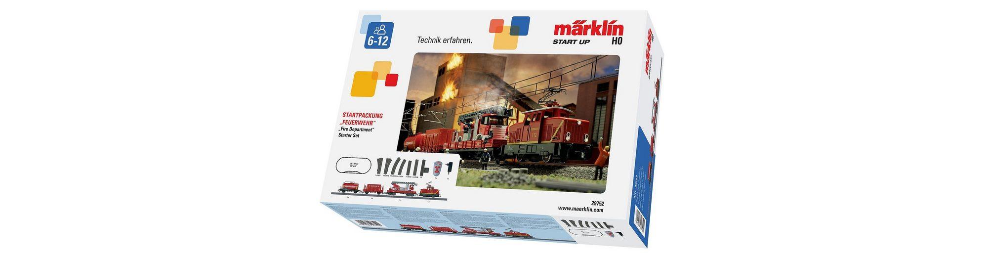 Märklin Eisenbahn Starterset, H0, »Märklin Start up - Startpackung Feuerwehr 230 Volt - 29752«