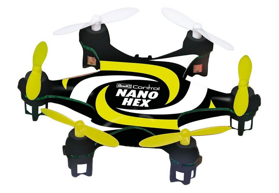 Revell® RC Quadrocopter, »Revell® Control Multicopter, Nano Hex« in schwarz/gelb