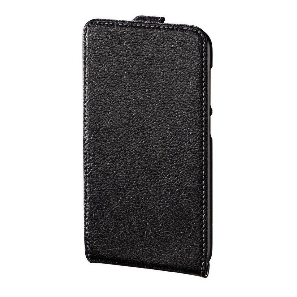 Hama Flap-Tasche Smart Case für Huawei Y625, Schwarz in Schwarz