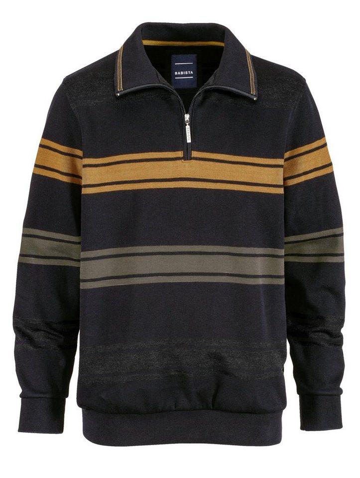 Babista Sweatshirt in anthrazit-messingf