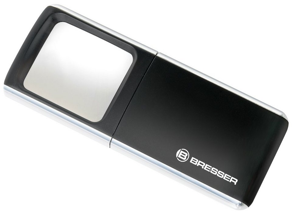 BRESSER Lupe »BRESSER LED-Pop-Up-Lupe 3x 35x50mm«