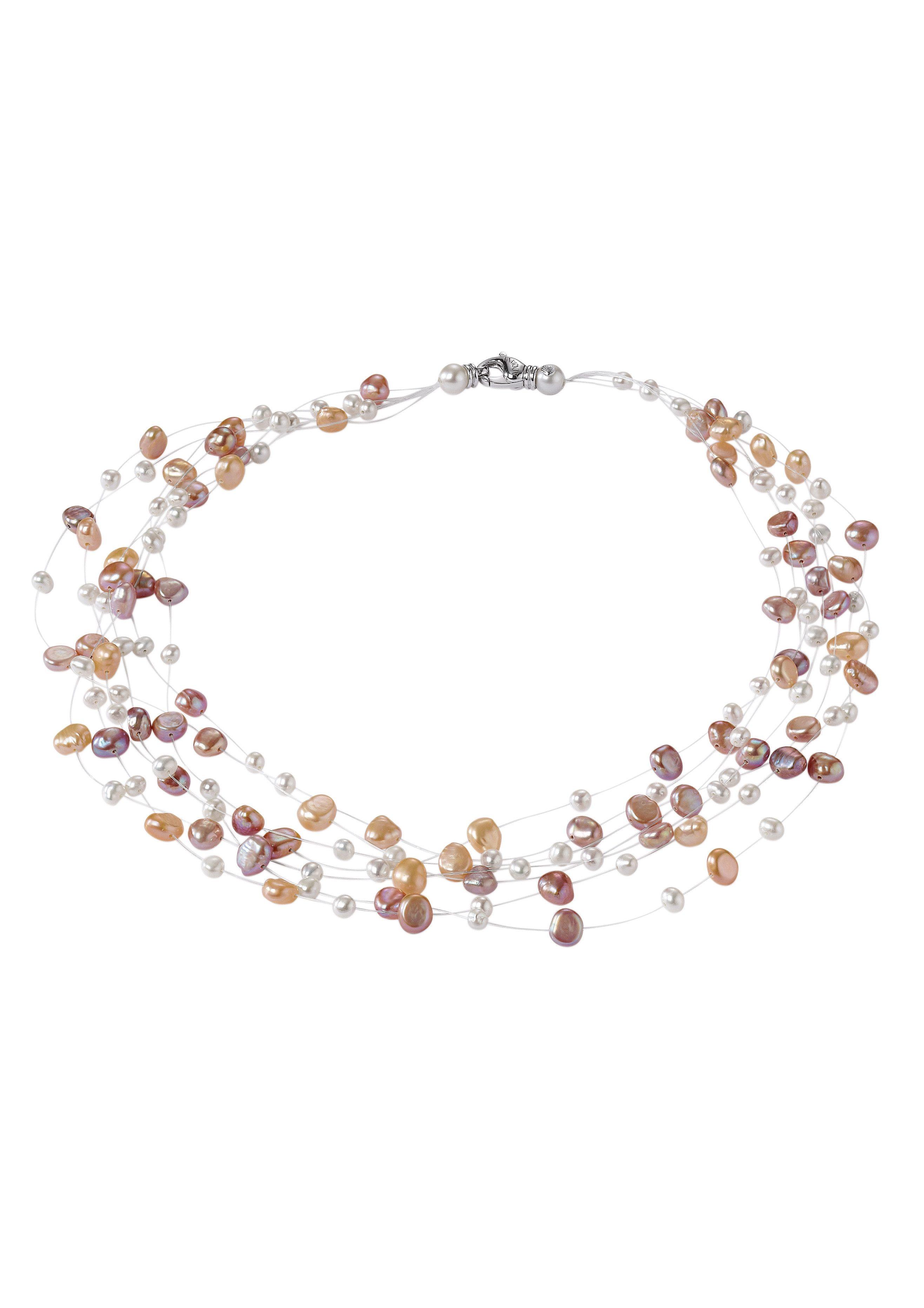 Adriana Perlenkette »La mia perla, R3« mit Süßwasserzuchtperlen