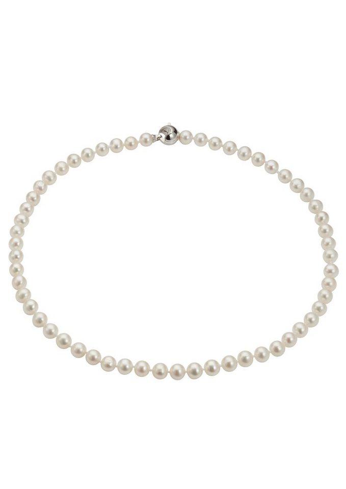 Adriana Perlenkette, »La mia perla A2839-KSW70-SIR/Ba« in weiß