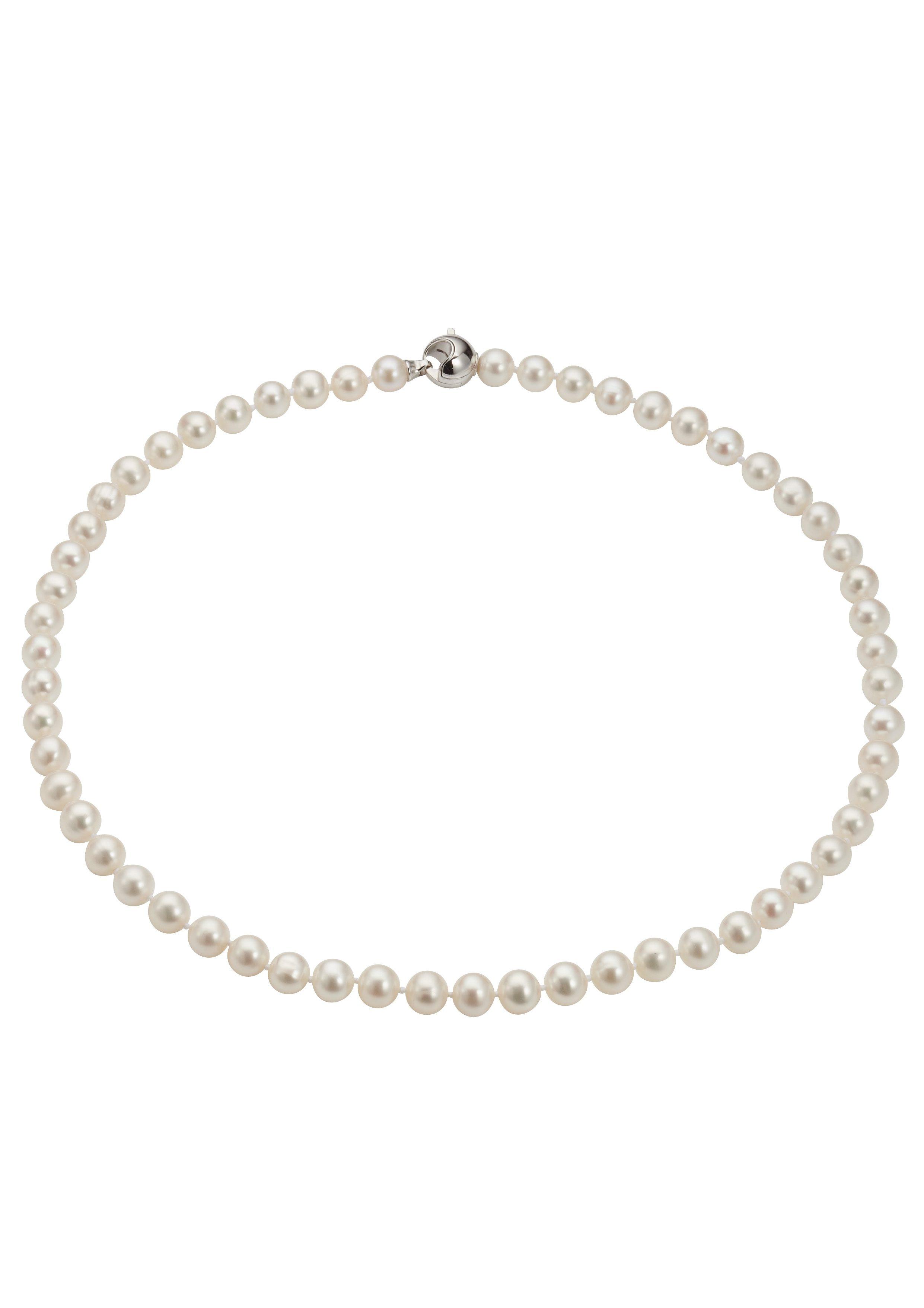 Adriana Perlenkette »La mia perla, A2839-KSW70-SIR/Ba«, mit Süßwasserzuchtperlen
