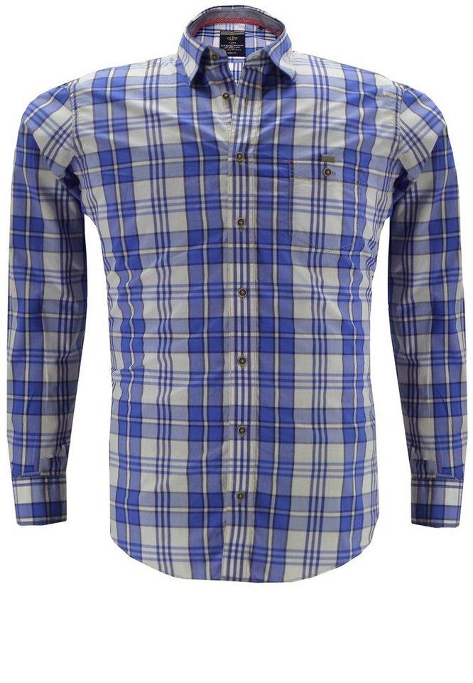 Casamoda Herrenhemd in Blau