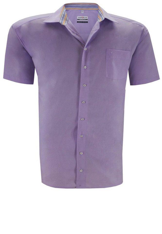 marvelis Kurzarmhemd in Violett