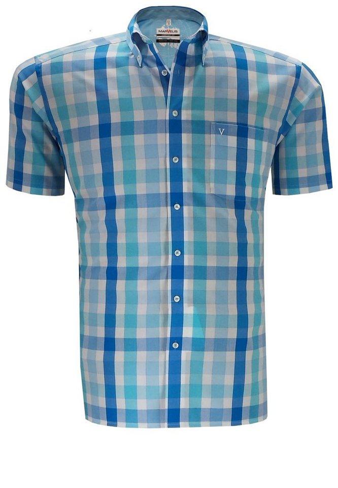 marvelis Kurzarmhemd in Blau