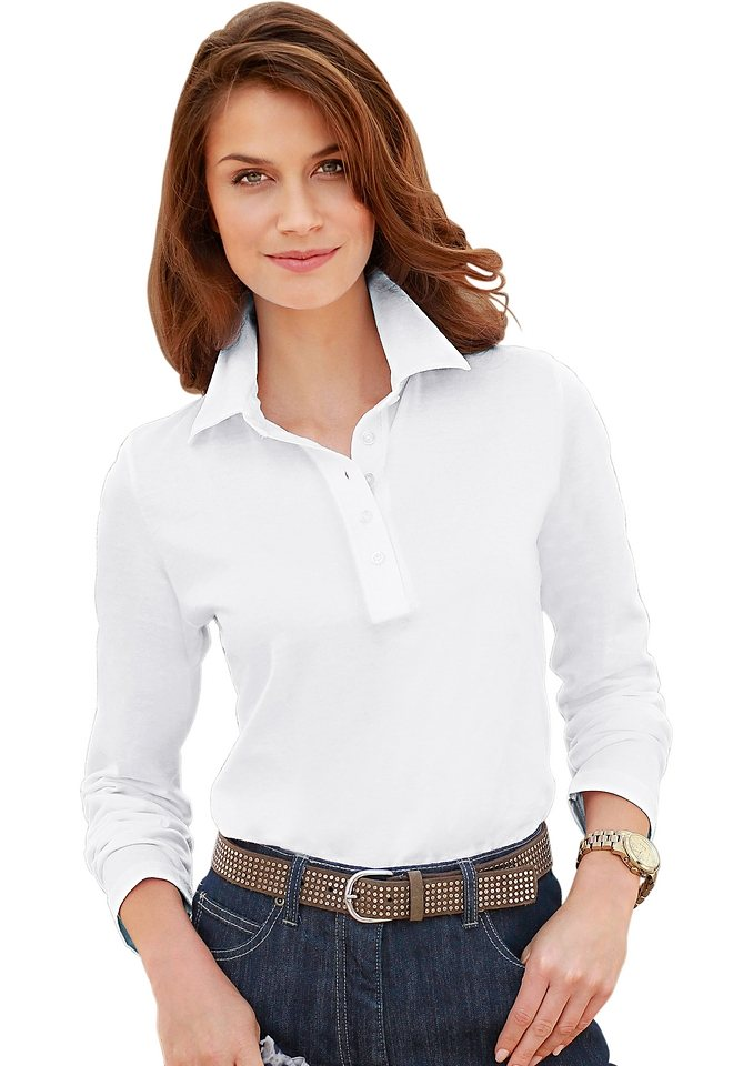 Collection L. Shirt in PURE WEAR-Qualität in weiß