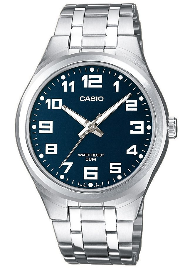 Casio Collection Chronograph »MTP-1310PD-2BVEF« NEO-Display in silberfarben