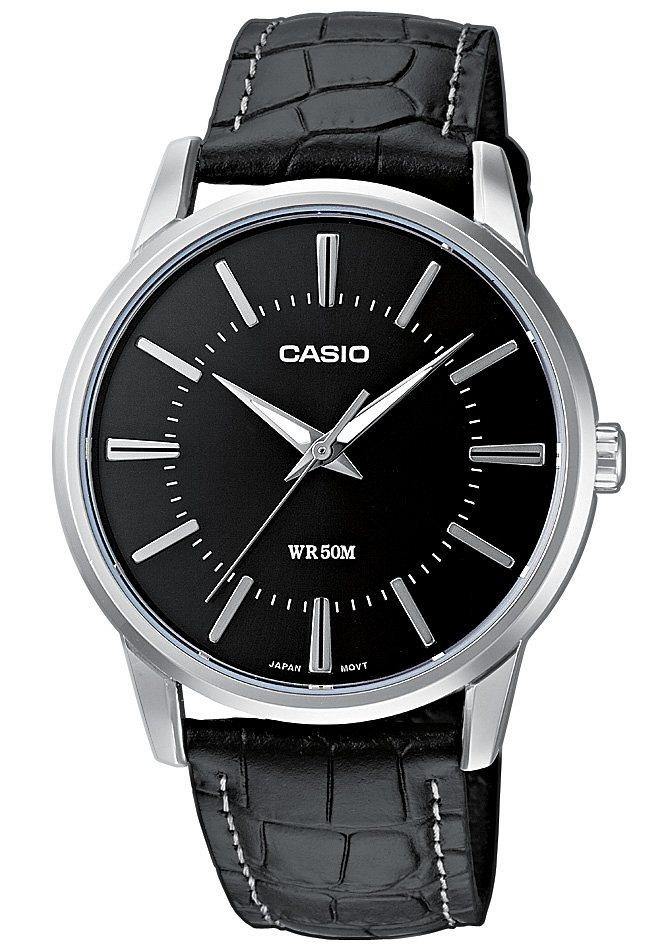 Casio Collection Quarzuhr »MTP-1303PL-1AVEF« in schwarz