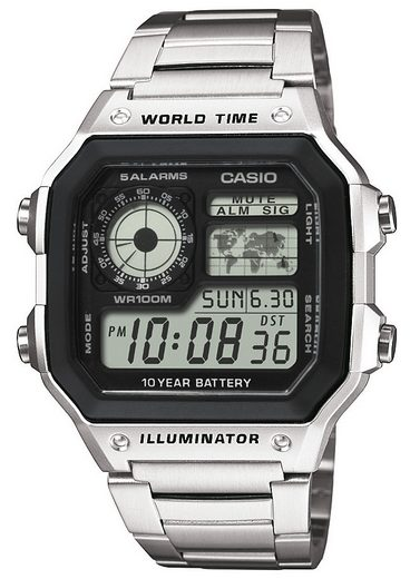 Casio Collection Chronograph »AE-1200WHD-1AVEF«