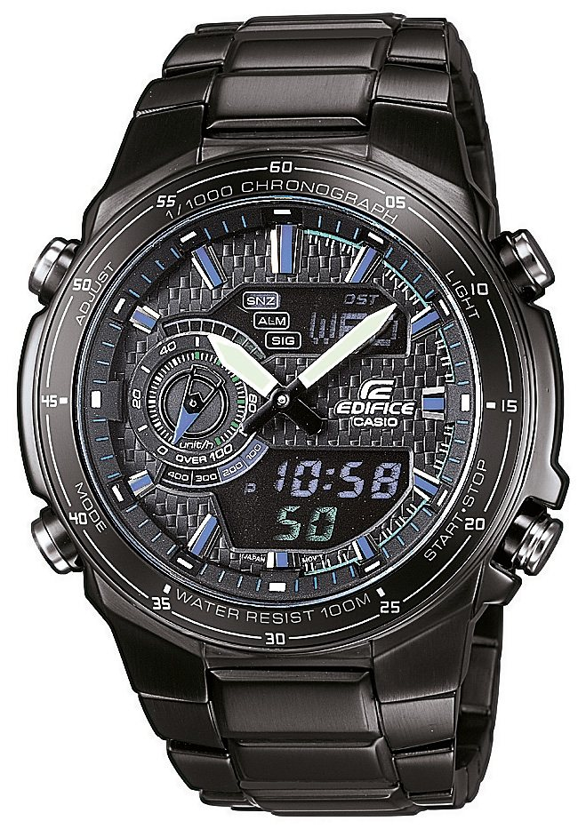 Casio Edifice Chronograph »EFA-131BK-1AVEF« in schwarz