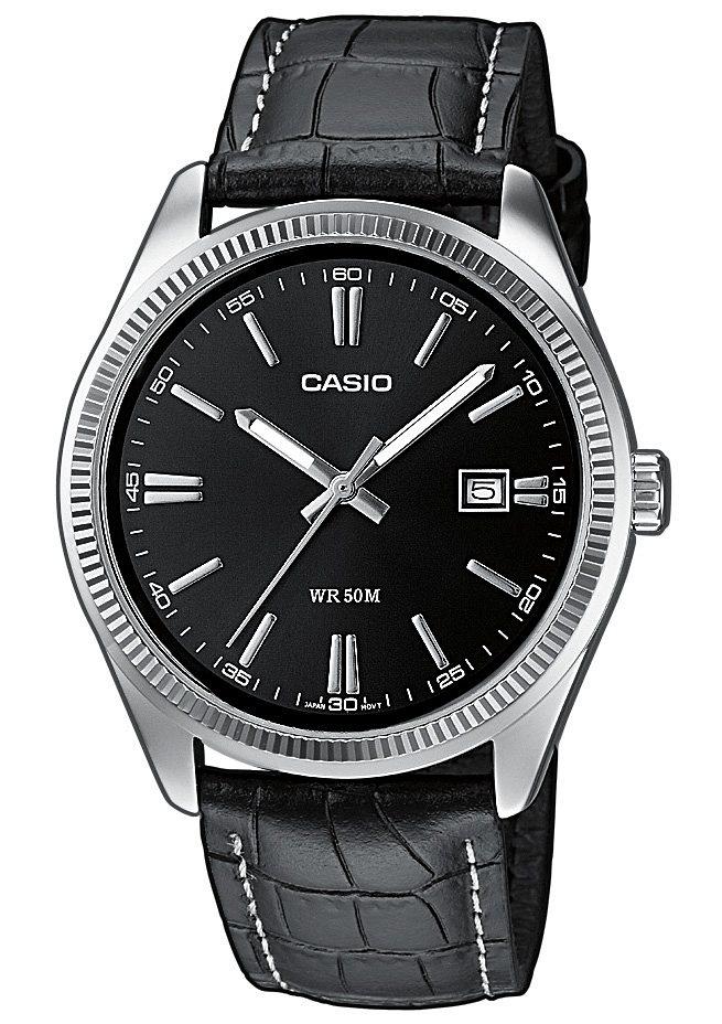 Casio Collection Quarzuhr »MTP-1302PL-1AVEF« in schwarz