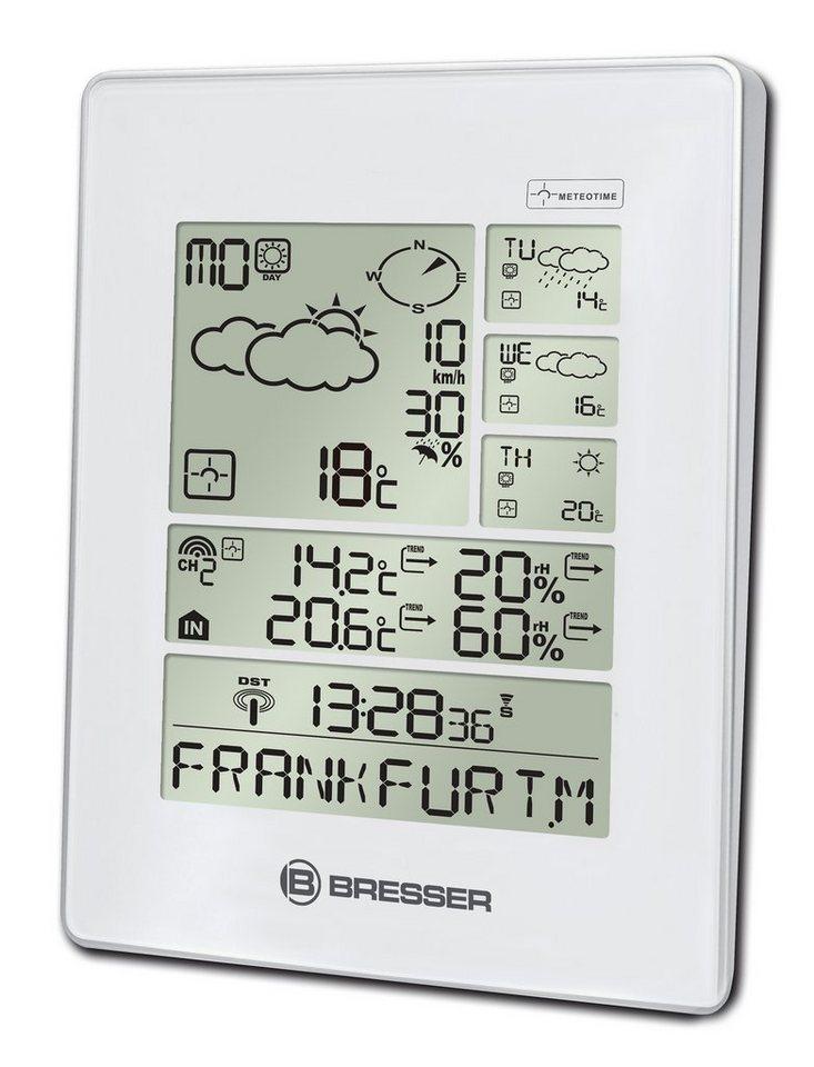Bresser Wetterstation »BRESSER 4Cast LX Funkwetterstation (4 Tage), weiß«