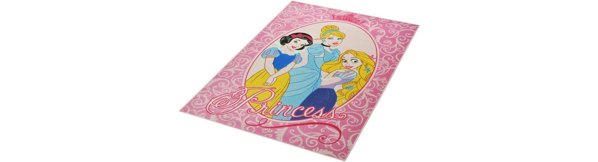 Kinder-Teppich, Disney Lizenz Teppich »Princess«, getuftet