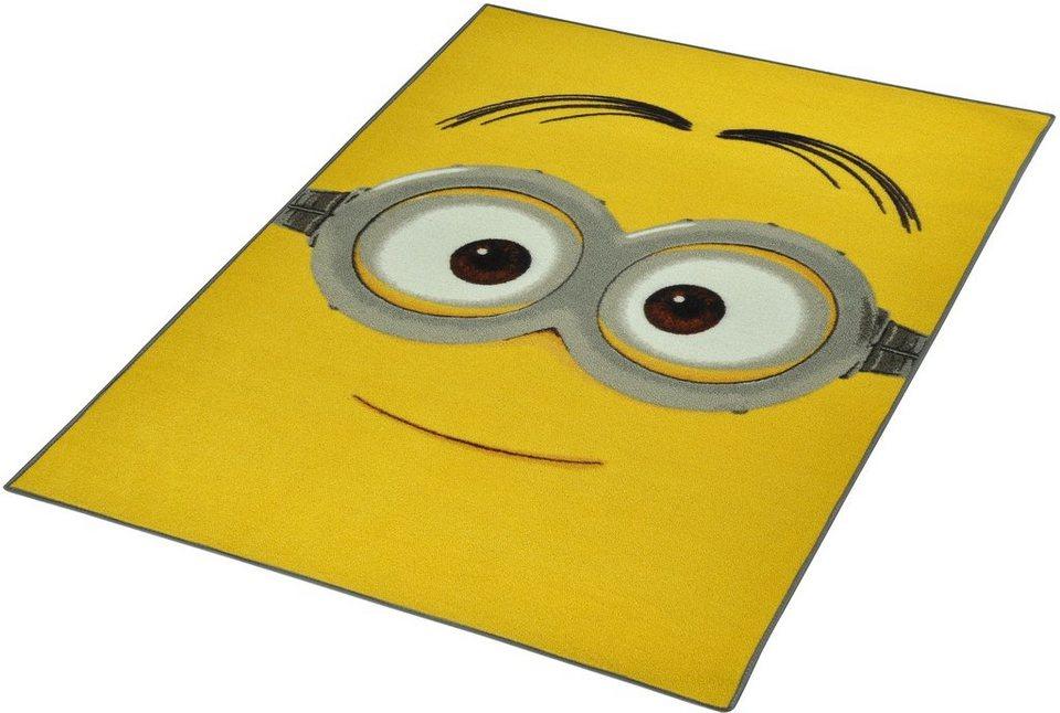 Kinder-Teppich, Minions Lizenz Teppich »Minion«, getuftet in Gelb
