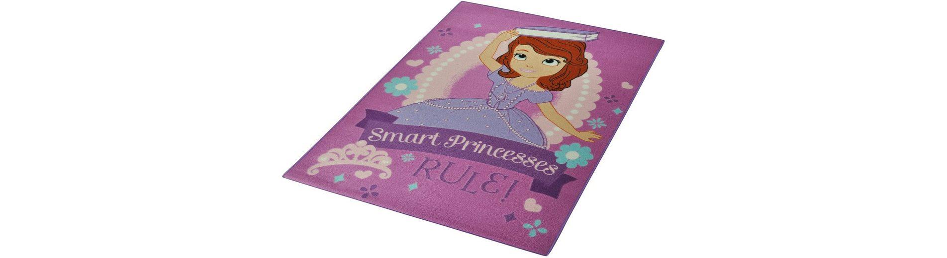Kinder-Teppich, Disney Lizenz Teppich »Sofia die Erste - Regeln«, getuftet