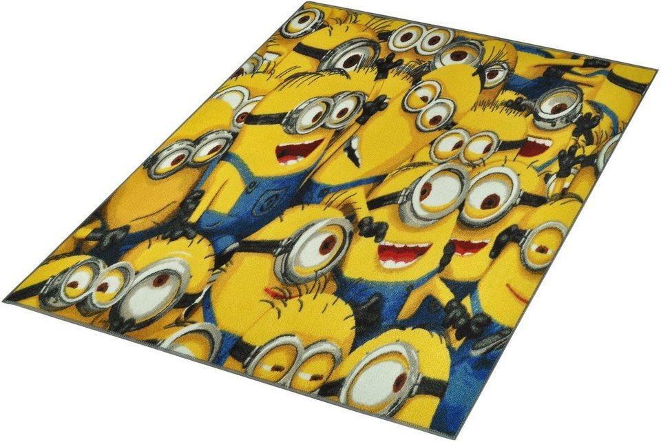 Kinder-Teppich, Minions Lizenz Teppich »Minions«, getuftet in Gelb