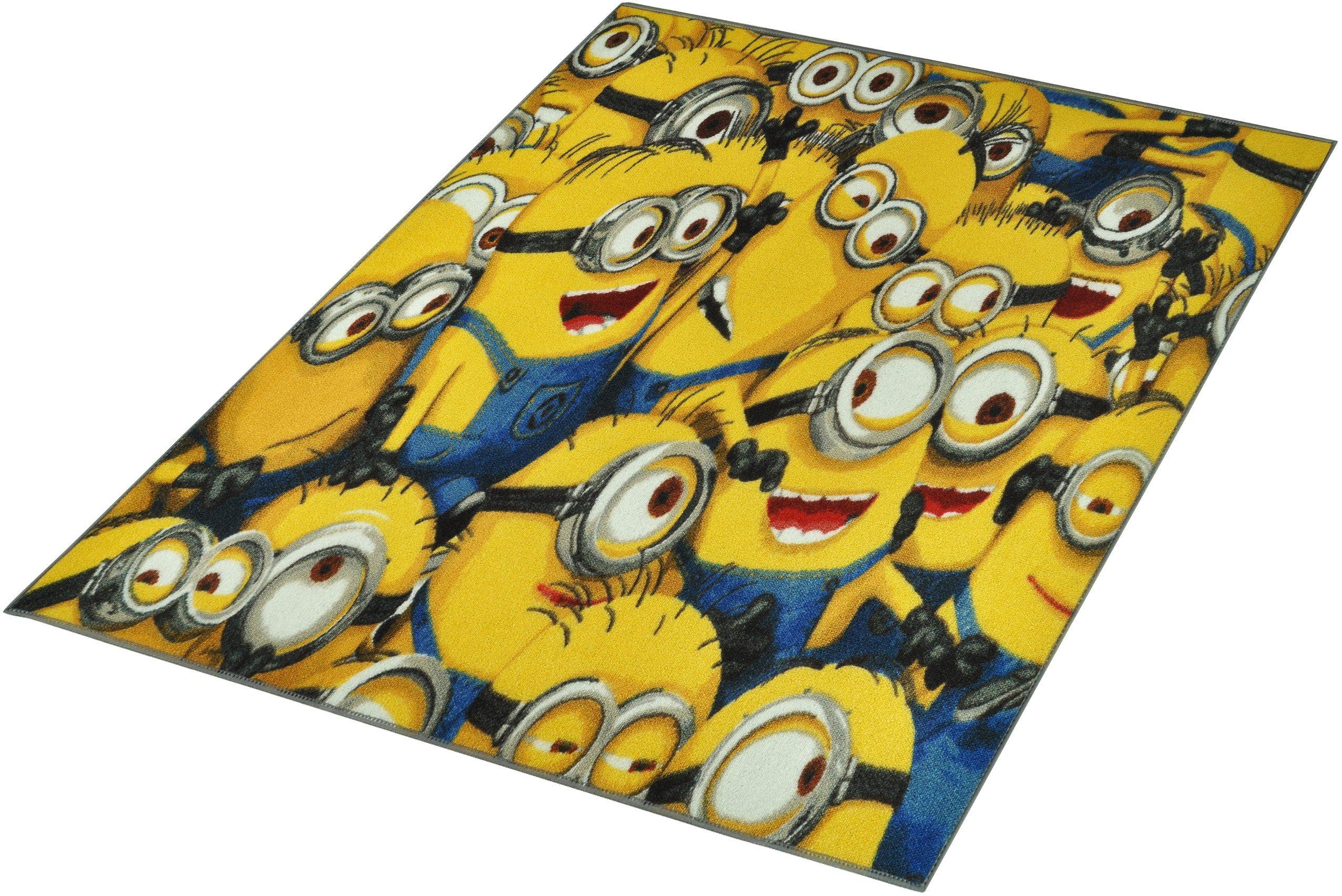 Kinder-Teppich, Minions Lizenz Teppich »Minions«, getuftet