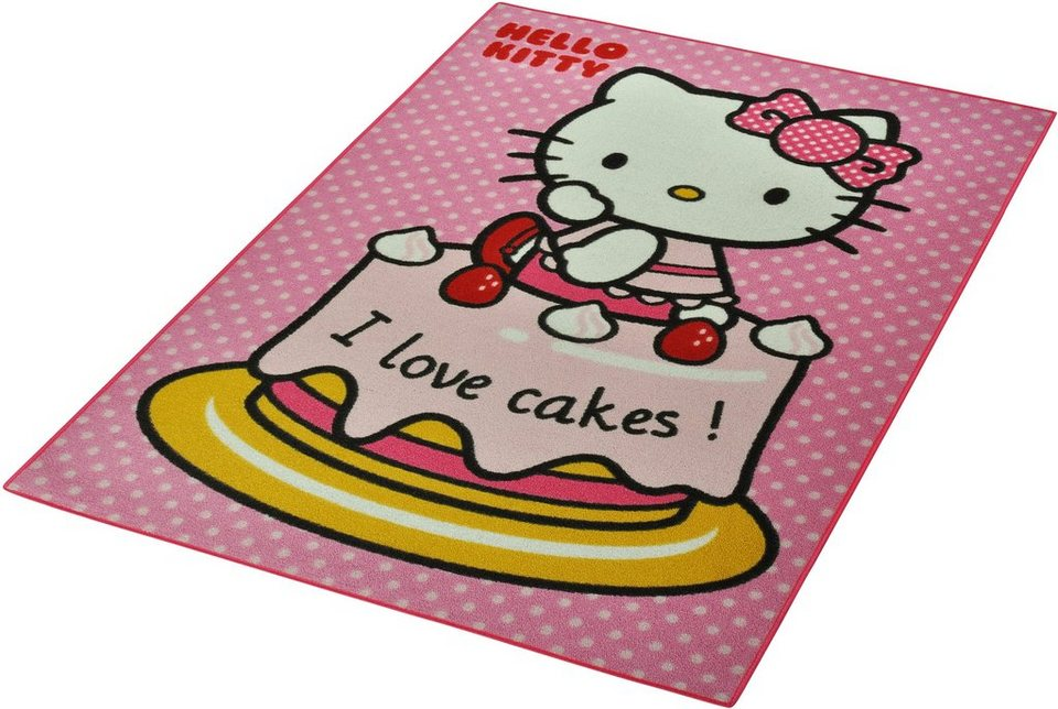 Garten Und Balkonmobel Gunstig :  hello kitty kinder teppich hello kitty lizenz teppich hello kitty cake