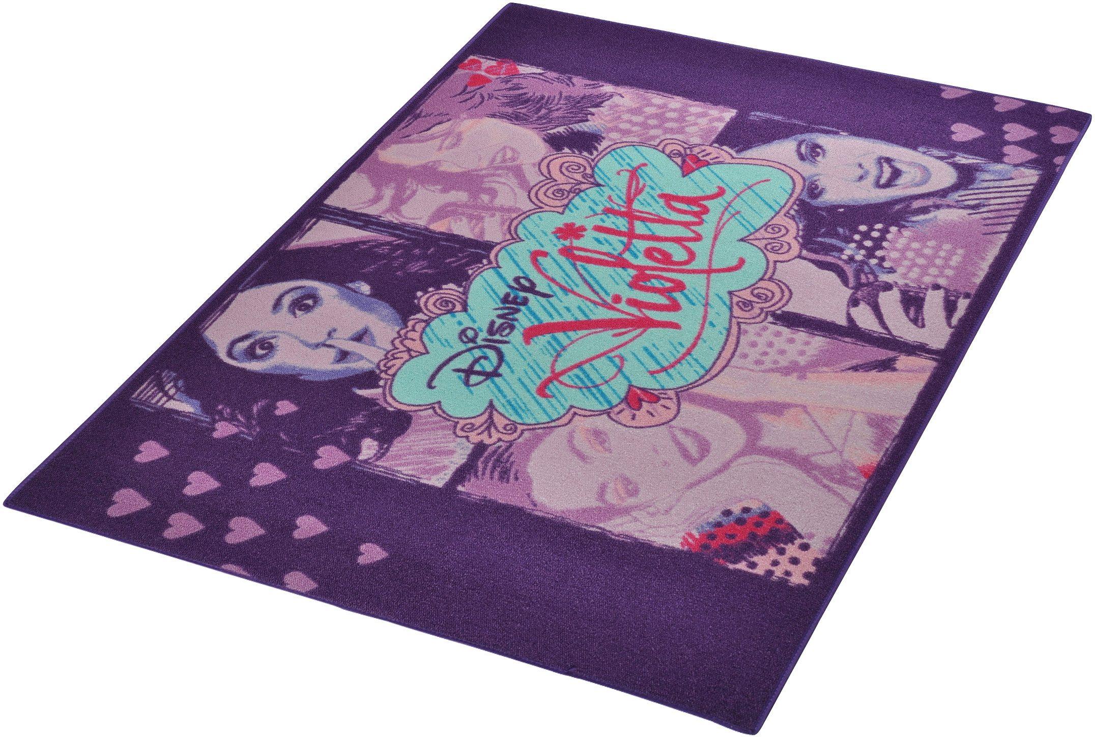 Kinder-Teppich, Disney Lizenz Teppich »Violetta - 4x«, getuftet