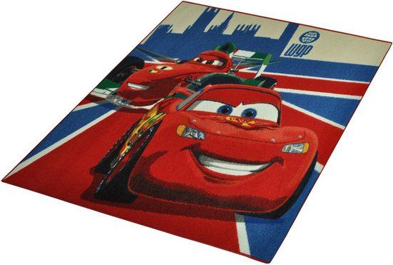 Kinderteppich »CARS«, Cars, rechteckig, Höhe 7 mm
