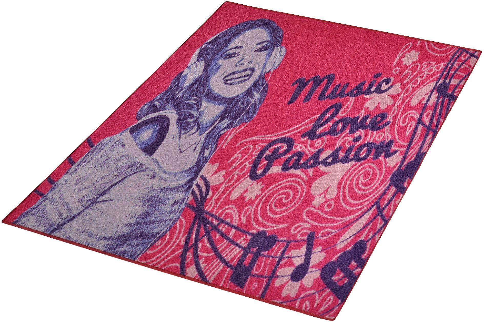 Kinder-Teppich, Disney Lizenz Teppich »Violetta - Passion«, getuftet