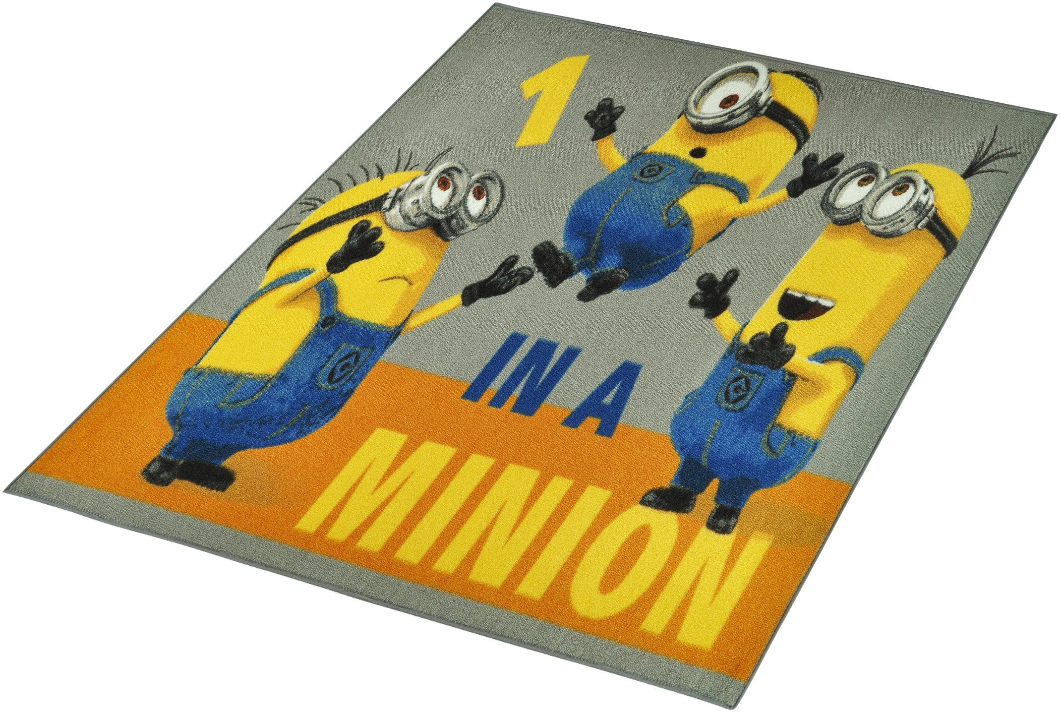 Kinderteppich »Minions - One in a Minion«, Minions, rechteckig, Höhe 7 mm