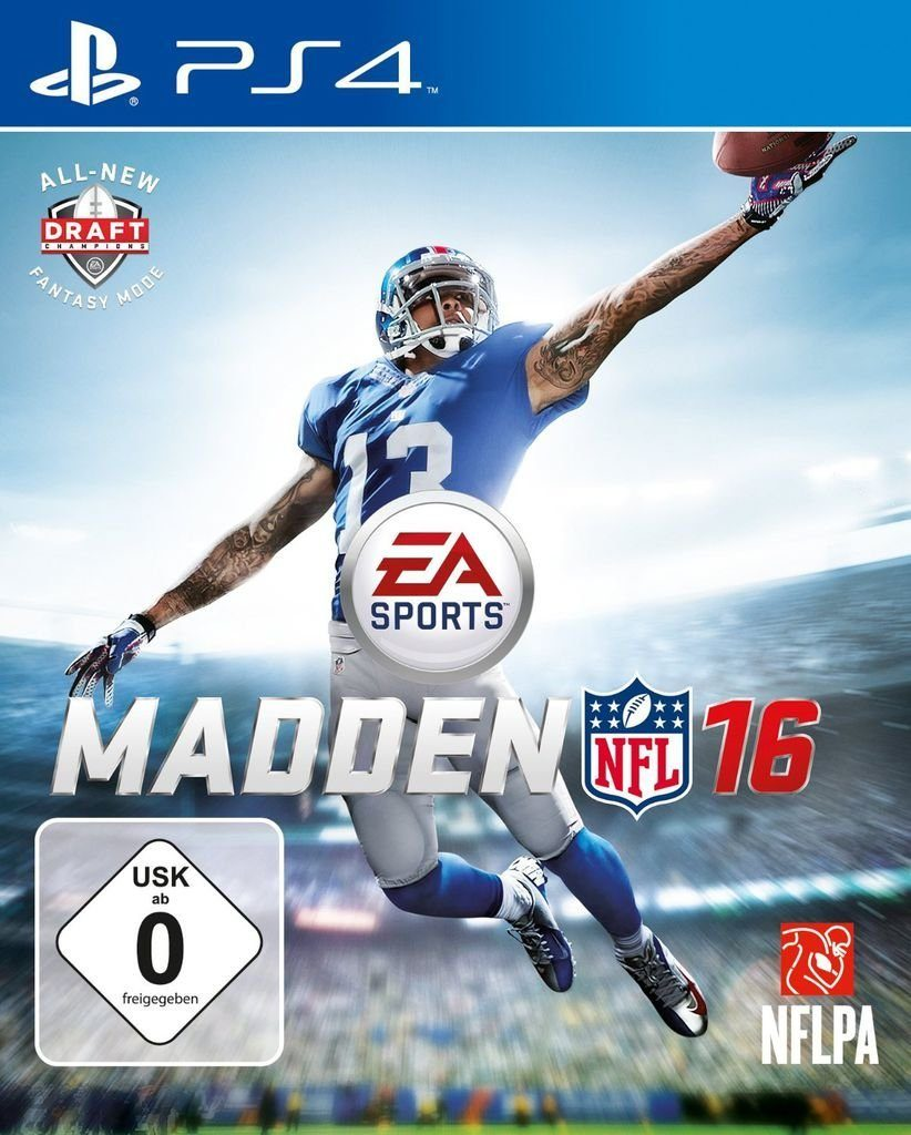 Electronic Arts Playstation 4 - Spiel »Madden NFL 16«