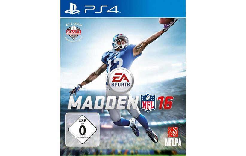 Electronic Arts Playstation 4 - Spiel »Madden NFL 16«