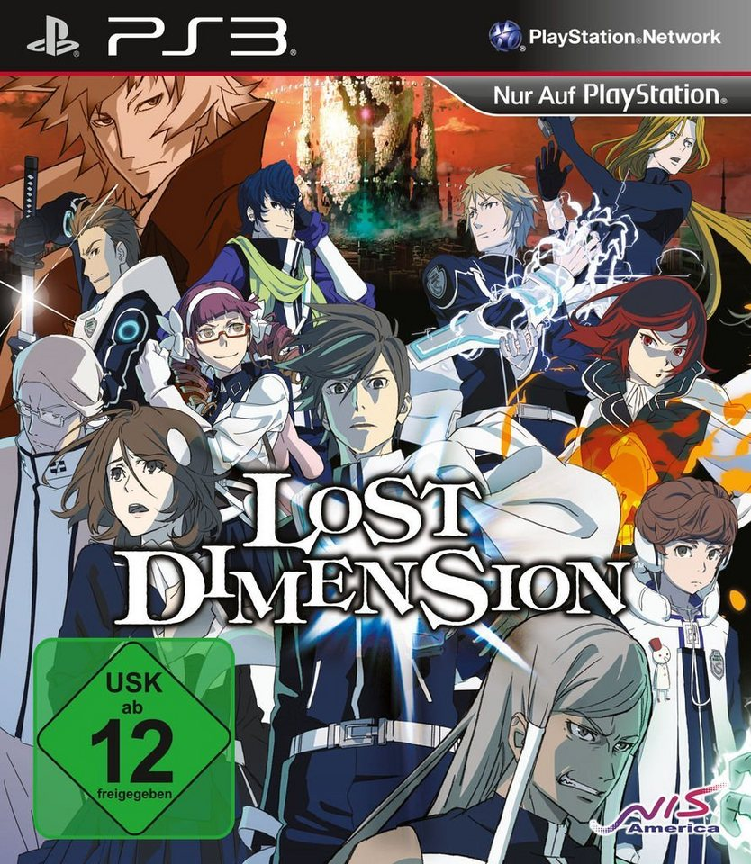 Atlus Playstation 3 - Spiel »Lost Dimension«