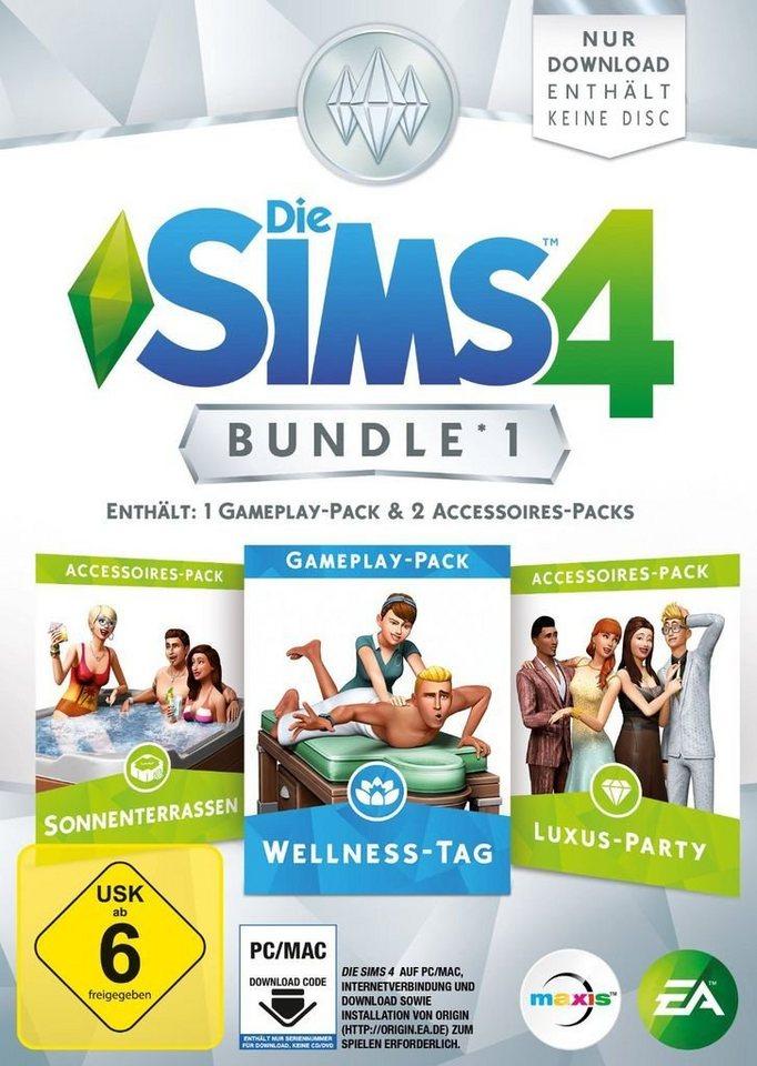 Electronic Arts PC - Spiel »Die Sims 4 Bundle Pack 1«