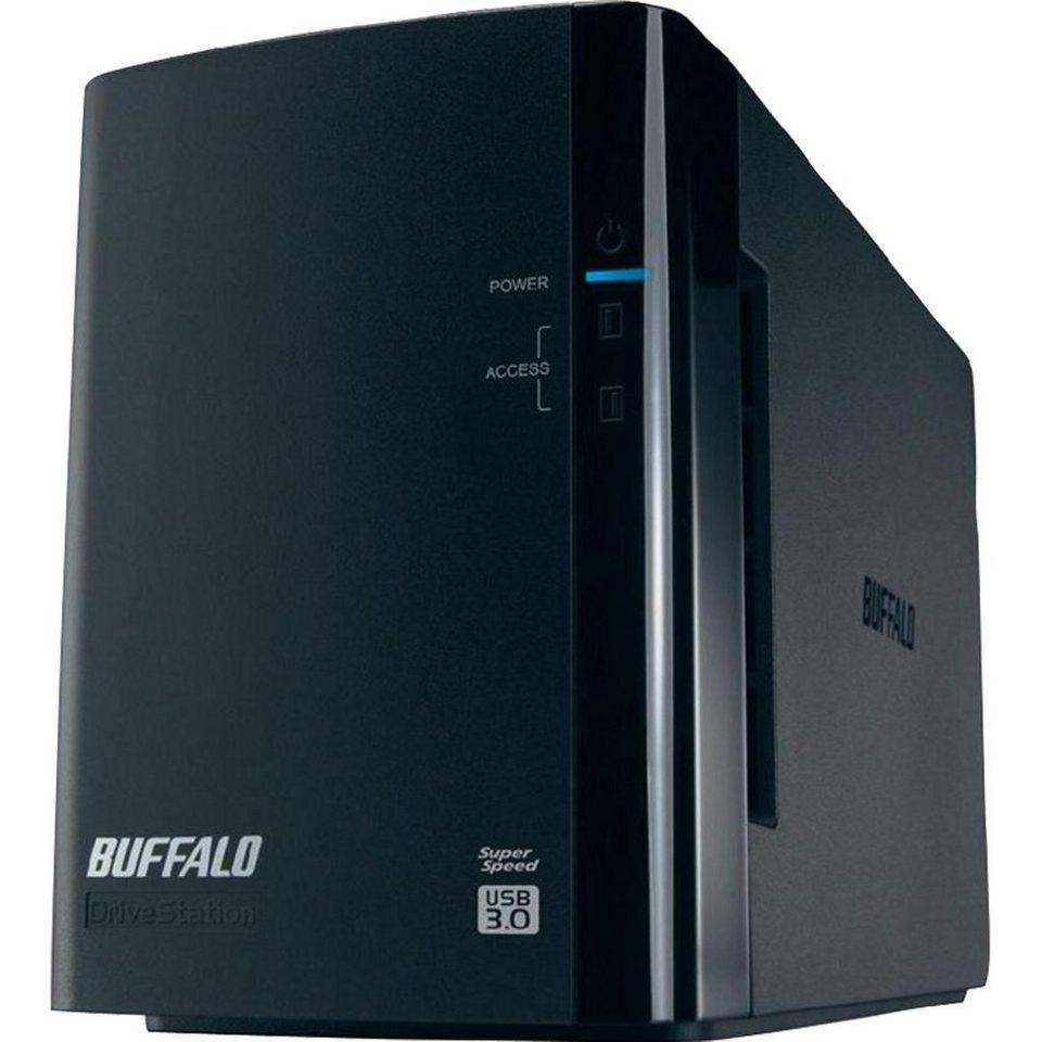 Buffalo Technology Festplatte »DriveStation Duo USB 3.0 8 TB«