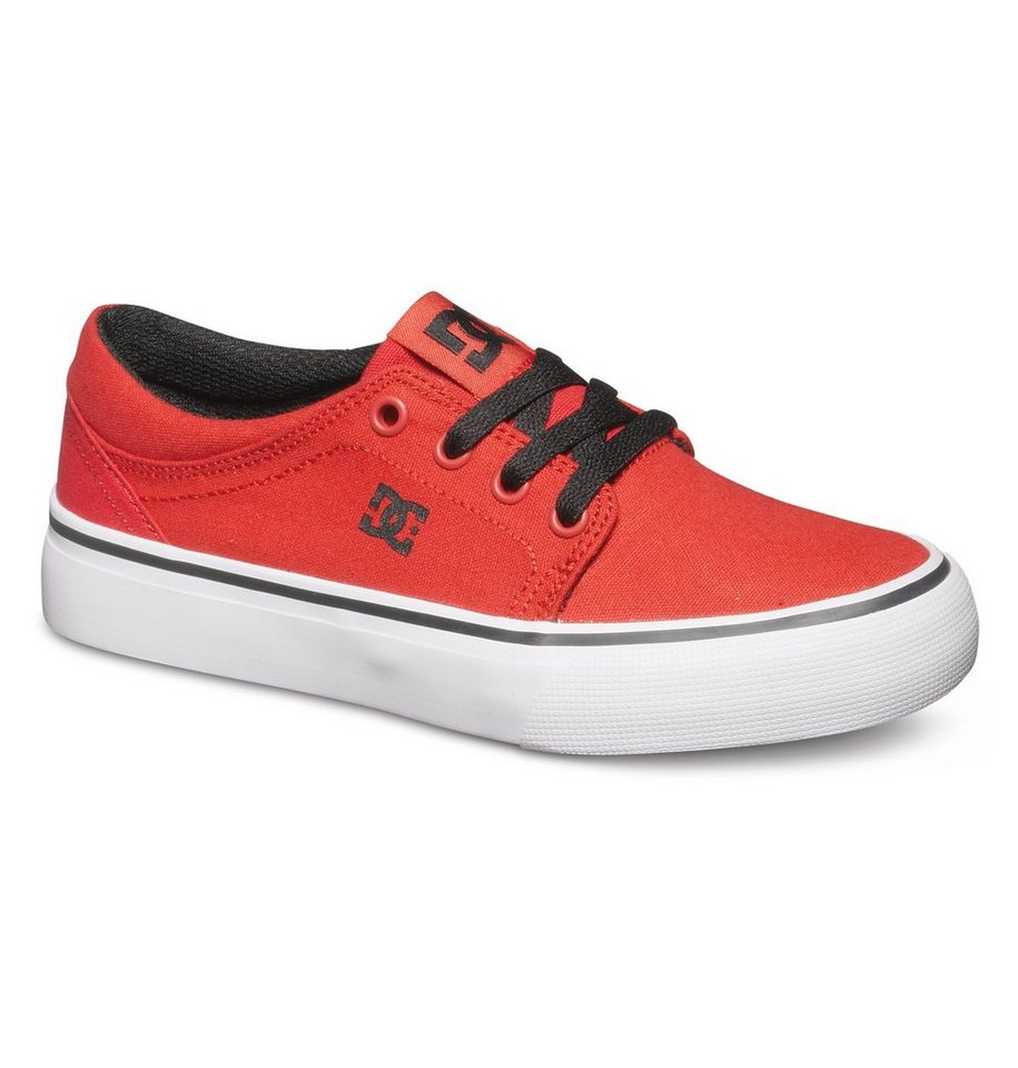DC Shoes Low Tops »Nyjah Vulc Tx« in red