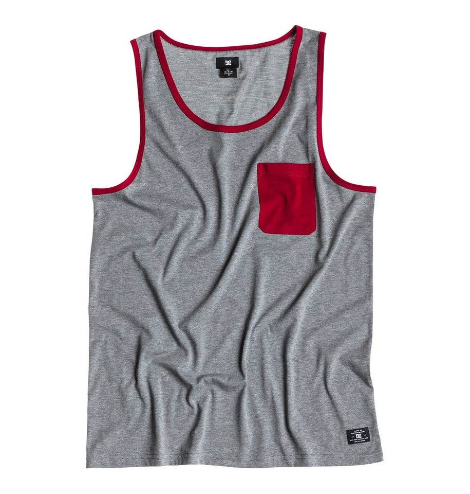 DC Shoes Top »Contra Tank« in Heather grey