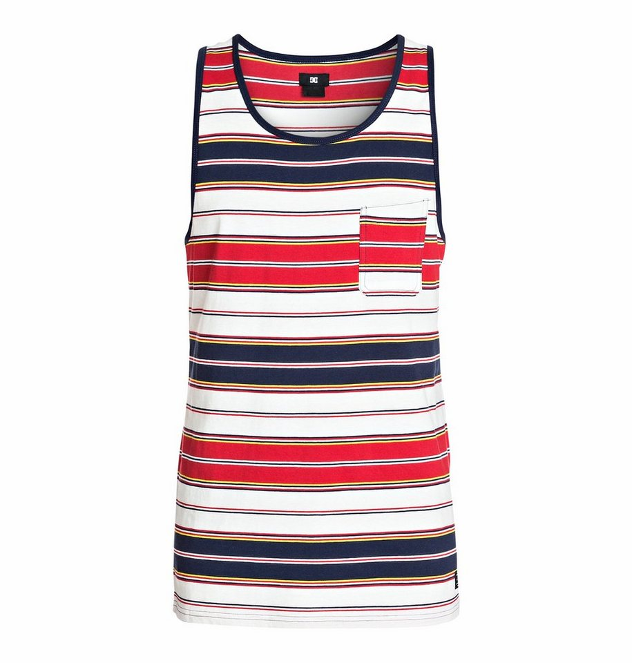 DC Shoes Top »The Strands Tank« in utility indigo stripe