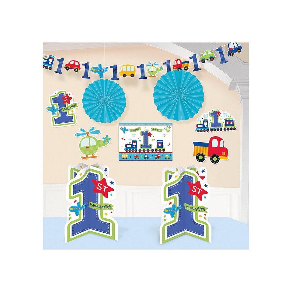 Amscan Deko-Set All Aboard Birthday, 10-tlg.