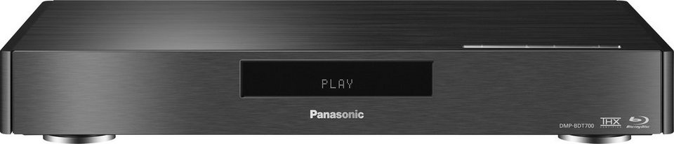 Panasonic DMP-BDT700EG9 Blu-ray-Player, 3D-fähig, WLAN in schwarz