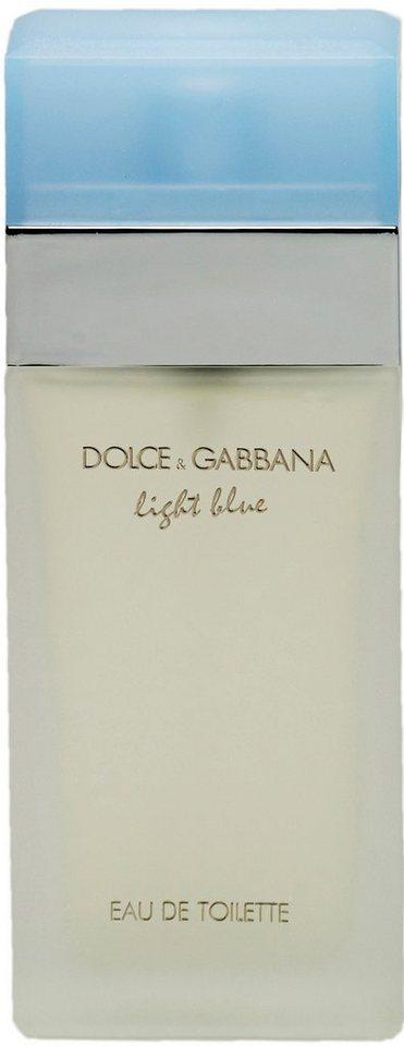 Dolce & Gabbana, »light blue«, Eau de Toilette