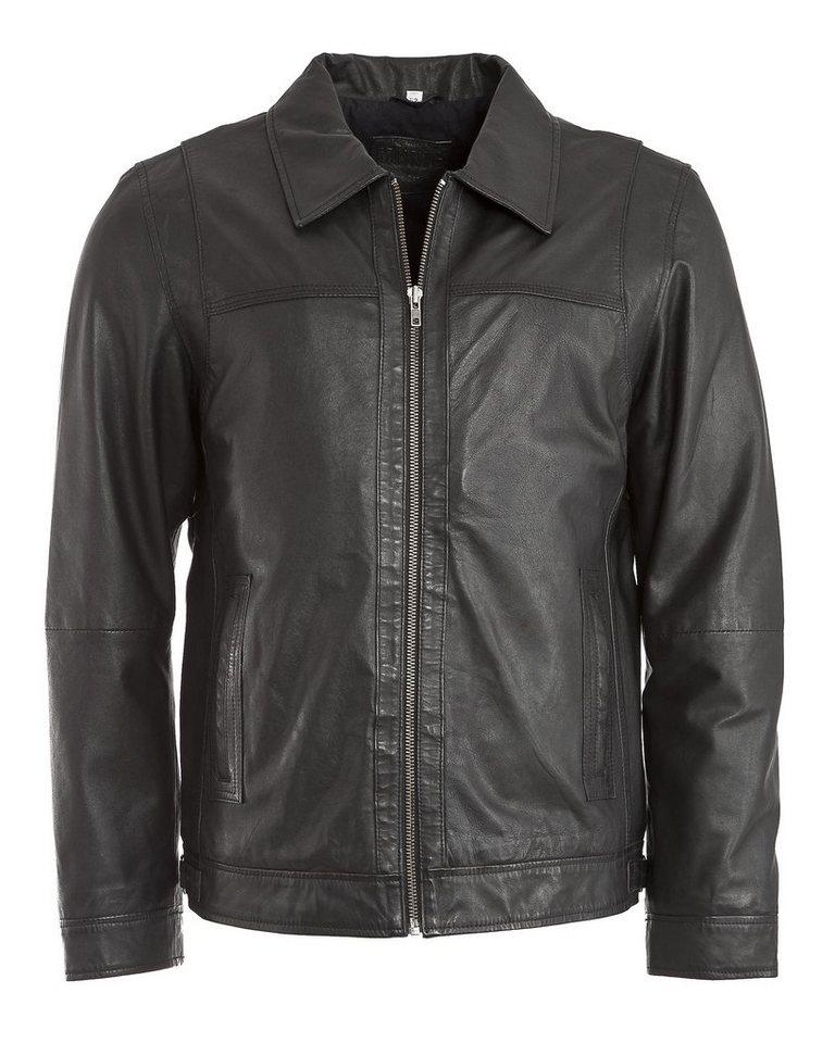 Mustang Lederjacke, Herren »Paleramo« in black