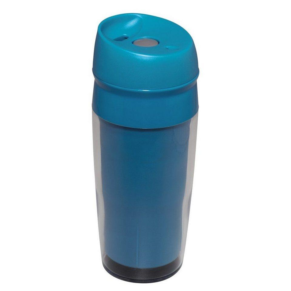 Xavax Isolierbecher Travel, 400 ml, Blau in Blau