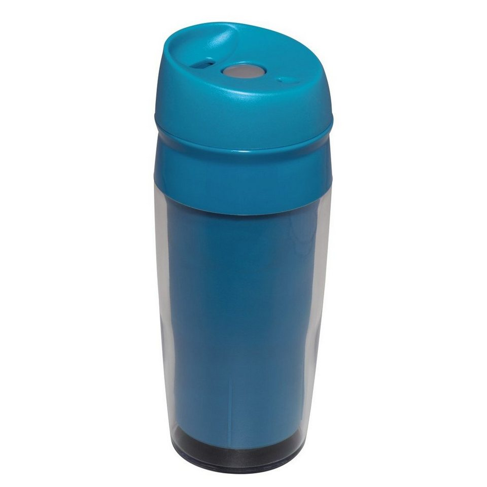 Xavax Trinkbecher Travel, 0,4l, Blau in Blau