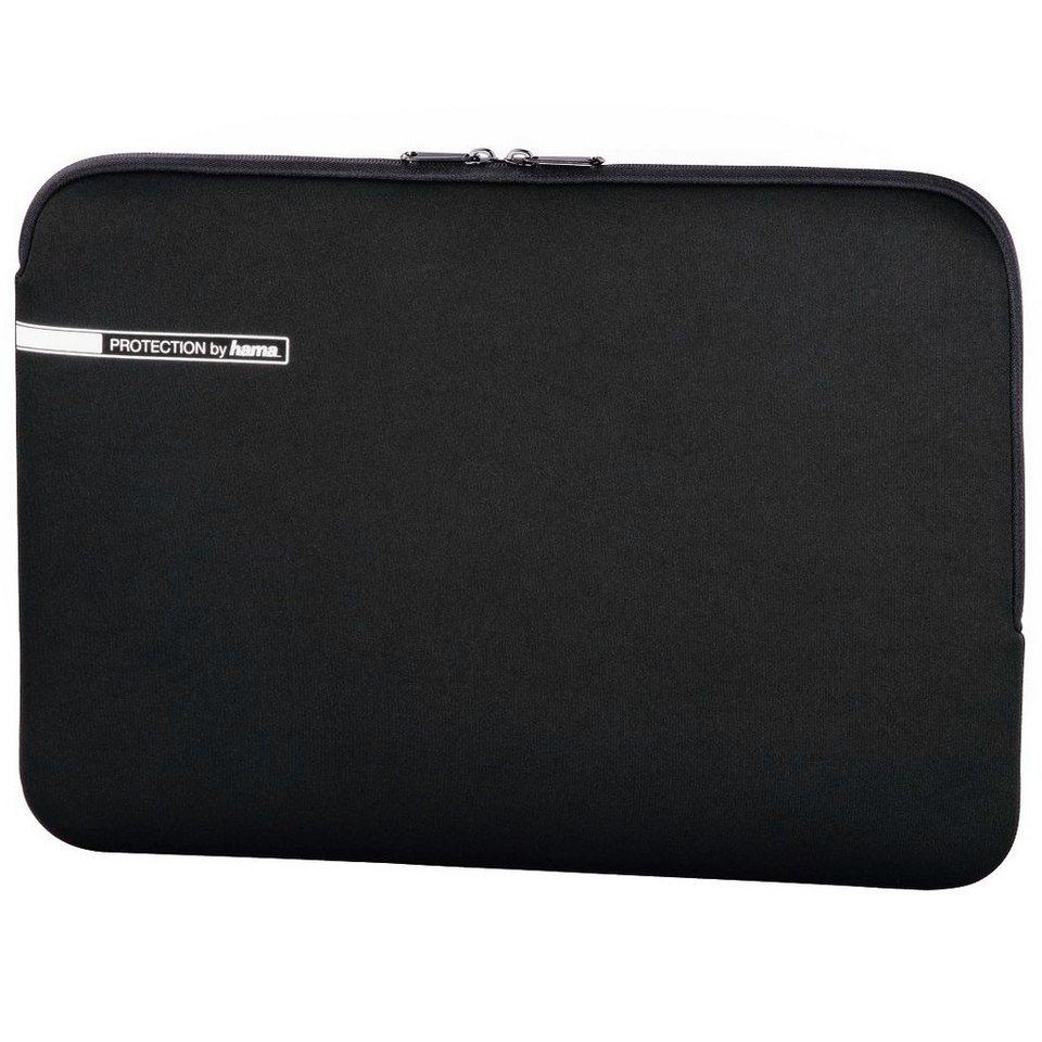 Hama Notebook Schutzhülle bis 40 cm (15,6 Zoll) Neopren Tasche »Hülle Sleeve Case für Laptop« in Schwarz